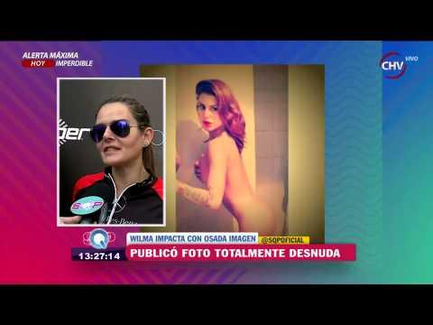 Wilma González Impactó En Internet Tras Publicar Fotografía Completamente Desnuda