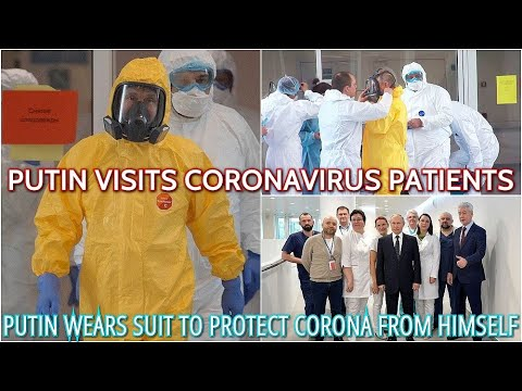 BREAKING! Putin To The Rescue! Russian President Visits Hospital With Infected Patients