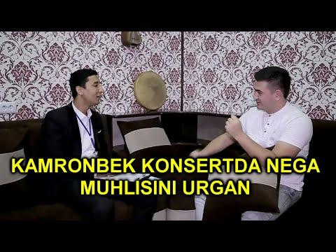 KAMRONBEK SOBUROV BILAN SUHBAT.