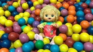 Baby Alive Clarabela Parque de Diversão com BIA LOBO