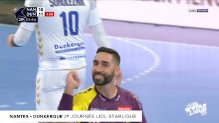 Nantes domine Dunkerque au forceps  | J02 Lidl Starligue 18-19