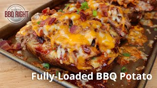 Fully-Loaded BBQ Potatoes wİth Pulled Pork