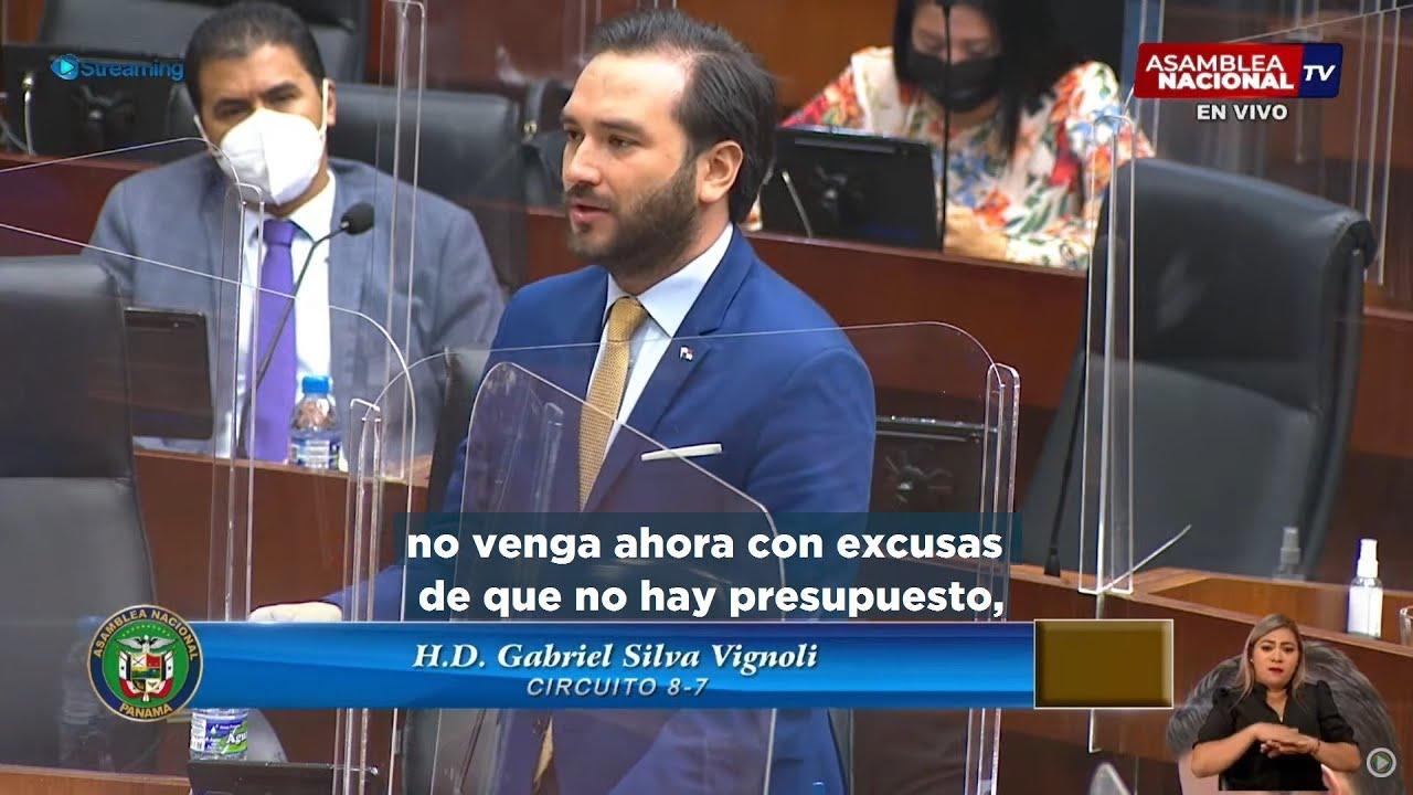 Gabriel Silva - Anteproyecto de Ley Programa de Atención Integral a Personas en Situación de Calle