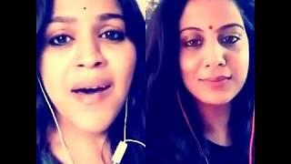 Sundari Kannal - Thalapathy - Sing! Karaoke| Smule (Shilpa & Jayalakshmi)