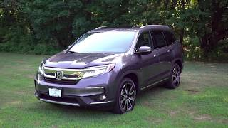2019 Honda Pilot Touring Elite Review and Test Drive | Herb Chambers | Honda Laura