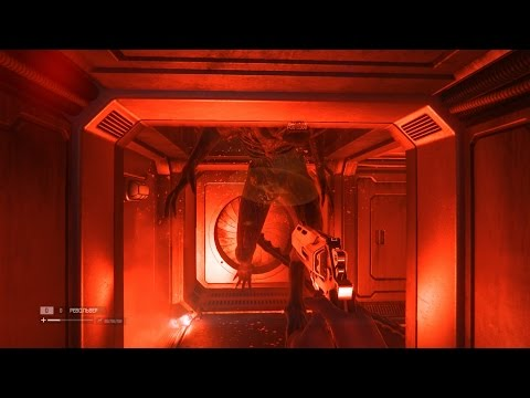 Баг в Alien Isolation   Как убить чужого?   How to kill Alien?