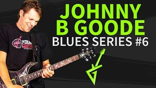 Guitar Riffs & Licks: Chuck Berry Johnny B Goode Intro Solo - Blues Special 2014