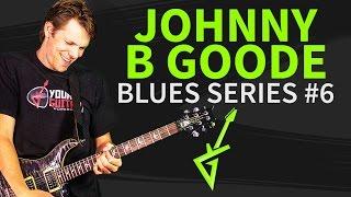 Guitar Riffs & Licks: Chuck Berry Johnny B Goode Intro Solo - Blues Special 2014