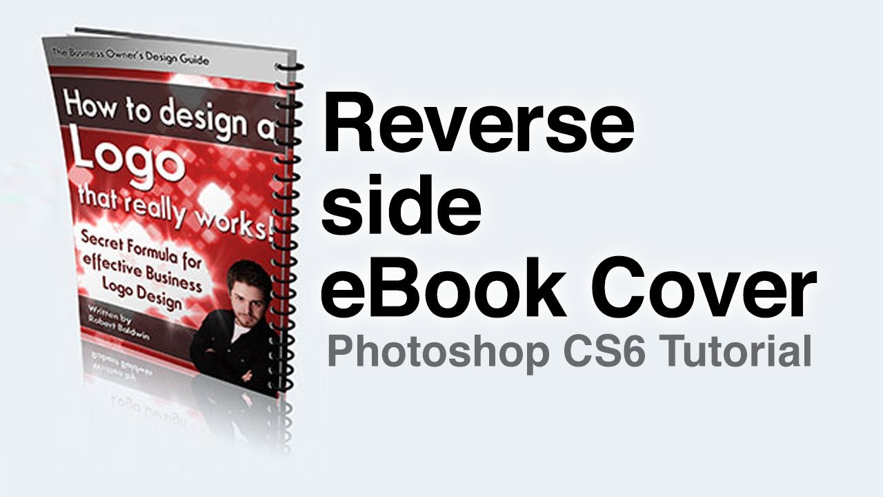 reverse side ebook cover template tutorial youtube. Black Bedroom Furniture Sets. Home Design Ideas