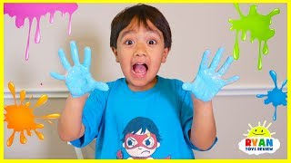 Learn Colors with Paint and Teach Alphabet Animals with Ryan ToysReview