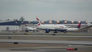 4K | Speedbird | British Airways | Boeing 777 | Atlanta
