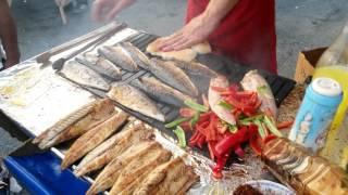 Turkey, Istanbul, Galata fish market