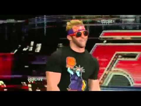 WWE Raw 3/5/12 Zack Ryder Returns