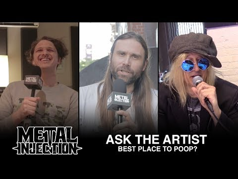 ASK THE ARTIST - Best Place To Poop? | Metal Injection