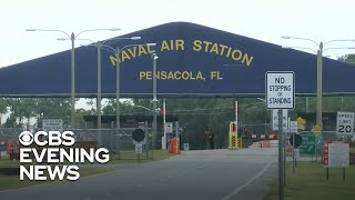 Pensacola shooting suspect was in the U.S. for aviation training