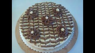 Торт Дунайские волны с шоколадным кремом. Маринкины творинки