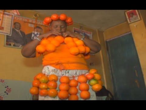 "The Loyalty Shadows: Rose Akinyi alias ""Mama Orange"" is an ODM fanatic"
