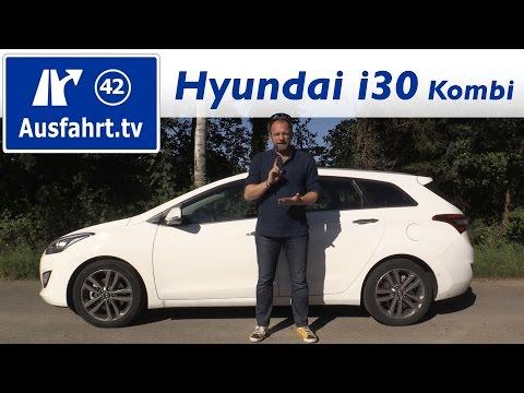 2016 Hyundai i30 Kombi 1.6 CRDi Premium - Fahrbericht der Probefahrt, Test, Review Ausfahrt.tv