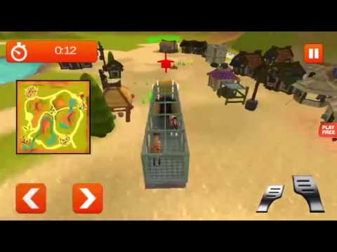 Transport Truck Farm Animal 3D - Android Gameplay HD