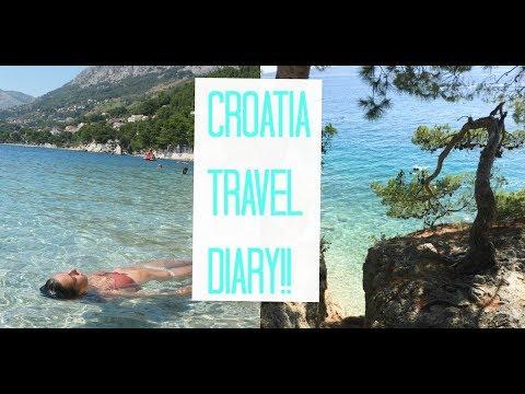 CROATIA TRAVEL DIARY + vlog!! (Brela, Makarska Riviera)