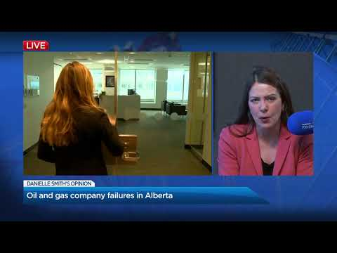 Danielle Smith On Alberta Oil Company Closures