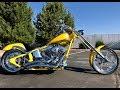 2008 HARLEY-DAVIDSON THUNDER MOUNTAIN KEYSTONE 110 CUSTOM SOFTAIL CHOPPER MOTORCYCLE! FOR SALE!