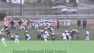 Elmont Memorial H.S. Football Highlights 2009-2010 #1