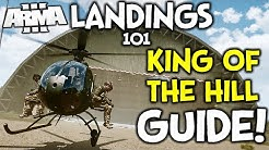 ArmA 3 Helicopter Landings Guide 101 ► Mastering the Hummingbird in King of the Hill!