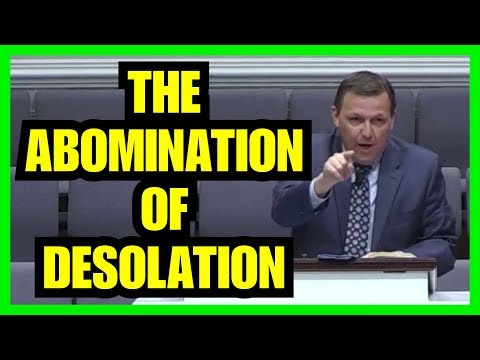 """The Abomination Of Desolation"" – Jimmy Toney"