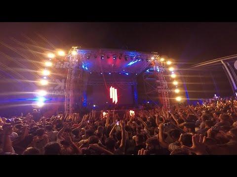 Skrillex Live At Cave, Gallipoli | Italy | Gopro Full Set | We Rock 2016 | 23-08-2016 |