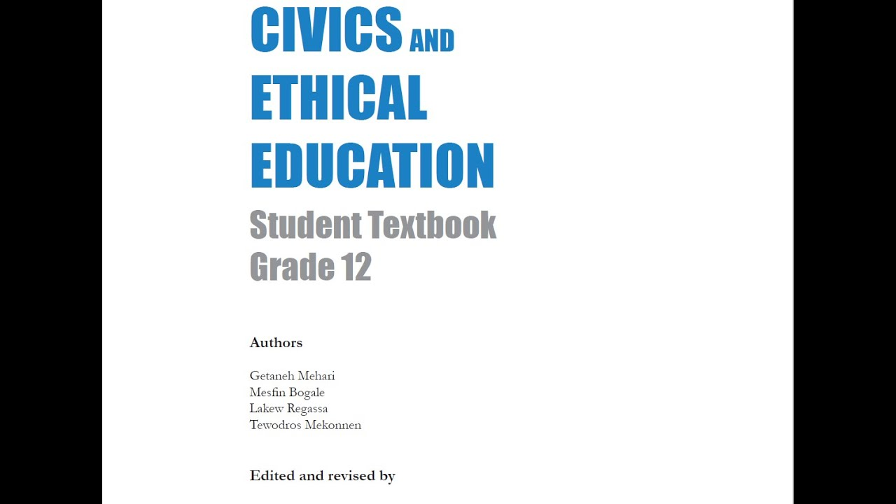 How To Download Civic Grade 11 and 12 Ethiopian Student Text Book