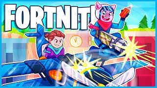 Fortnite but we're in a plane being annoying the whole game...