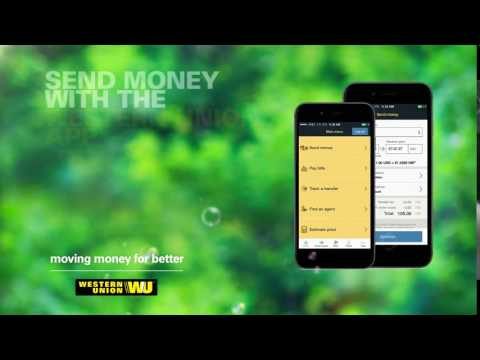 Send money now with the 4-star Western Union app