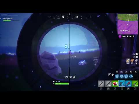 Fortnite Double Kill While Running From Storm