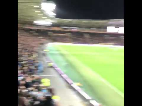 Manchester City Fans Singing Oh What A Night Vs Hull City Away