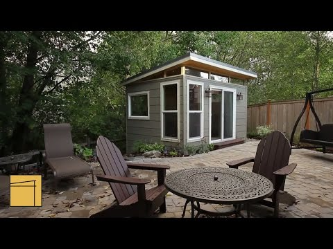 Customer Profile: Modern-Shed home office