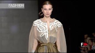 "MARTINA MICCI   Istituto Marangoni presents ""The Moscow Fashion Show""   Fashion Channel"