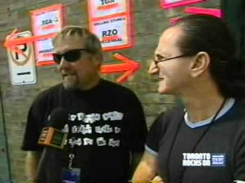 Rush Sarsstock Interview and Soundcheck