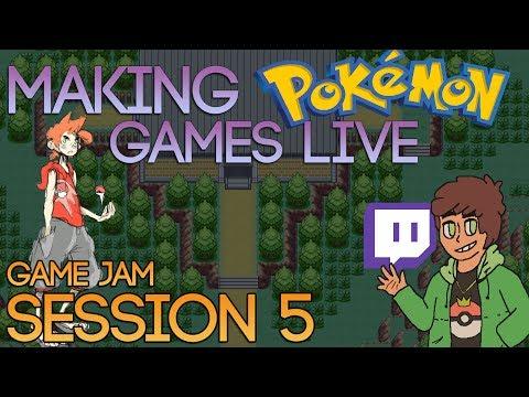 Making Pokemon Games Live (Game Jam Session 5)