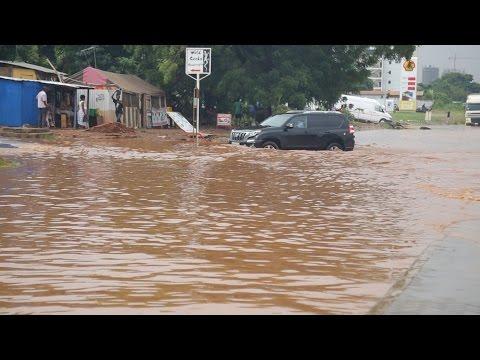 Accra floods  June, 9th. 2016