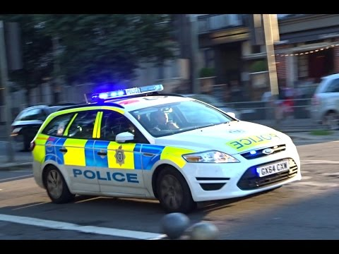 3x Sussex Police Cars Responding