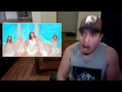 Compilation of Leg Spread Reactions Lion Heart MV Girl's Generation SNSD