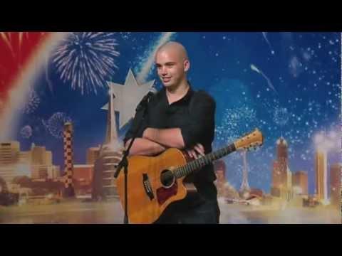 Joe Moore -- Australia's Got Talent 2012 FULL Audition