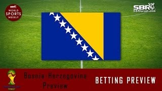 2014 World Cup Betting: Team Bosnia-Herzegovina Preview