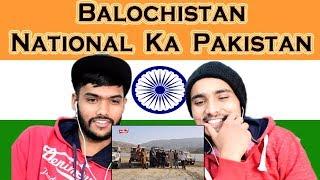 Indian reaction on National Ka Pakistan Balochistan | Swaggy d