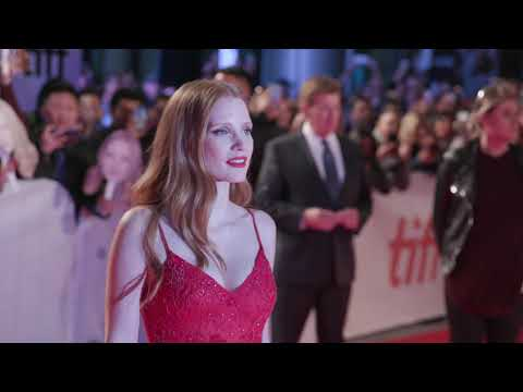 Woman Walks Ahead: Jessica Chastain Red Carpet Premiere Arrivals TIFF 2017
