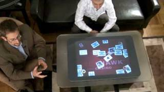 Microsoft Surface Demo: Red Hawk Casino High Rollers Microsoft Surface Application