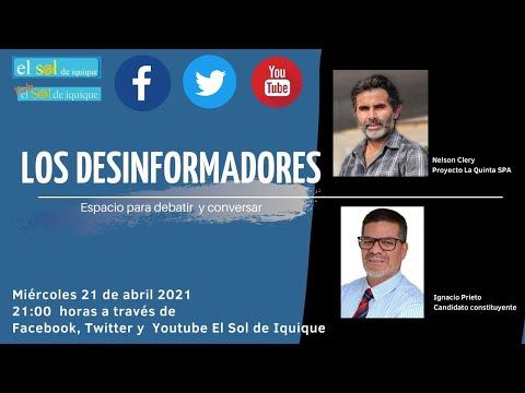 Los Desinformadores miércoles 21 de abril 2021