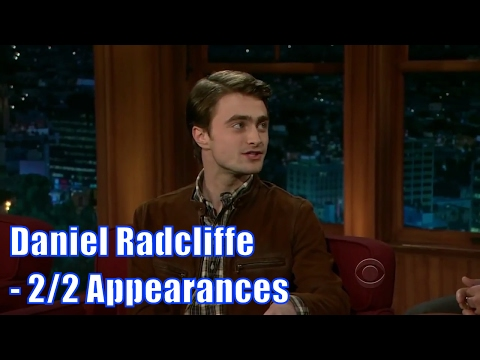 Daniel Radcliffe - Is Ready To Have Kids, Right Now! - 2/2 Appearances [HALF HD]