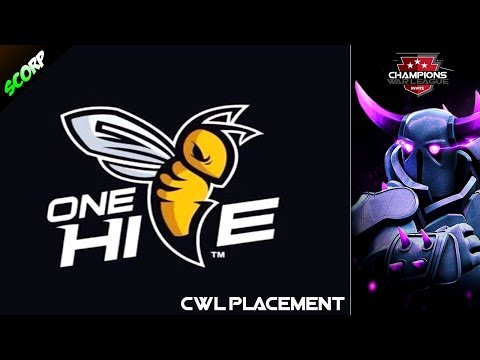 OneHive vs OneHive Genesis - Champions War League Placement Match